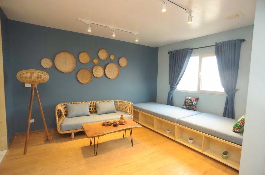 6.モダンな中にもベトナムらしさを感じる可愛いお部屋