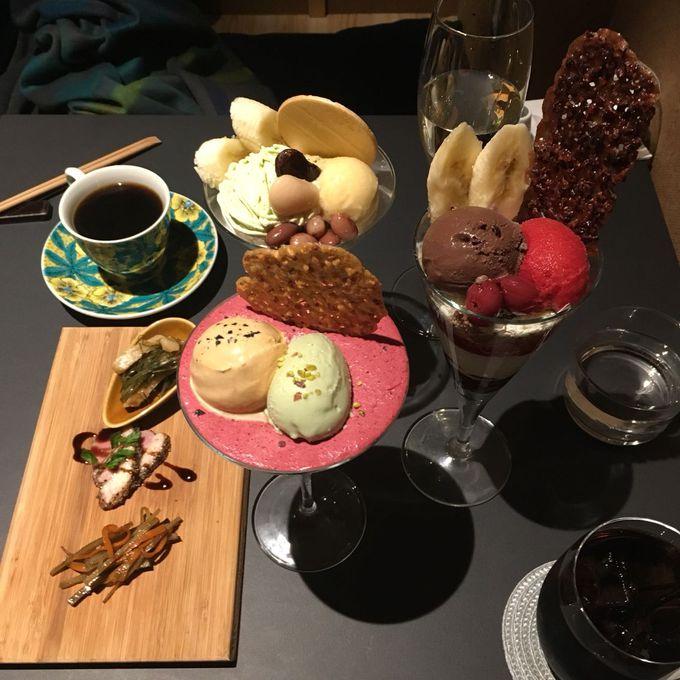 サク旅プラン1. 北海道でシメパフェを食べる