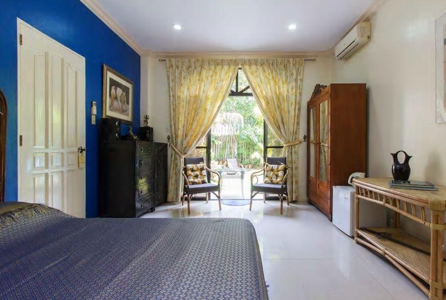 6.美しいガーデンとリゾート感あるお部屋が自慢のB&B