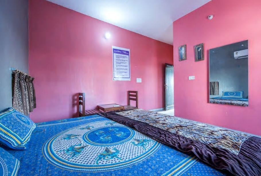 7.ピンクシティでピンクのお部屋に泊まろう/ジャイプール