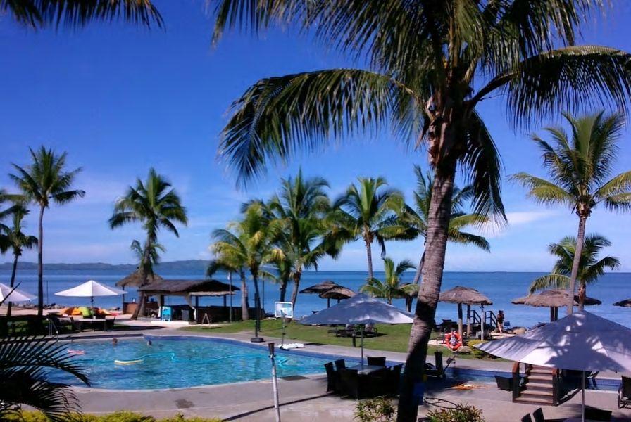 2.デナラウ島にあるリゾート、プールやスパなど施設充実
