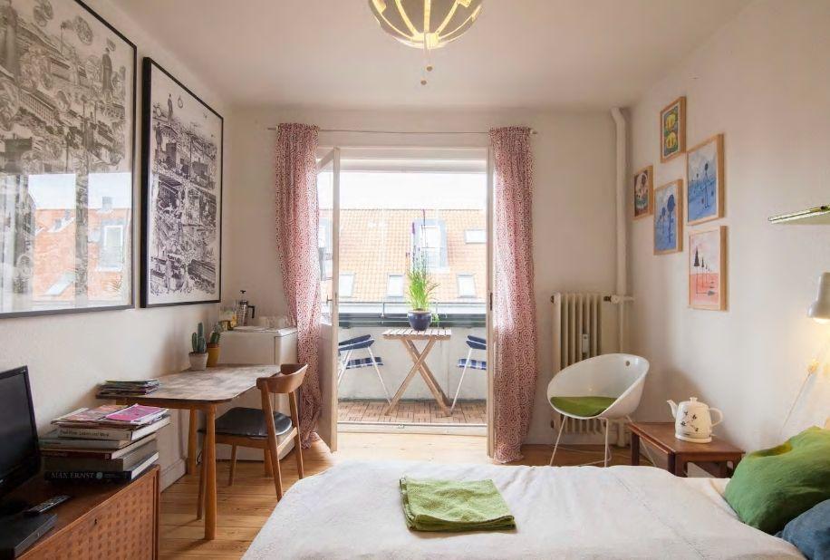 1.コペンハーゲンらしい街並みの中で暮らすように滞在