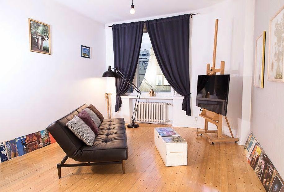 2.遊びゴコロ満載のアーティスティックなお部屋