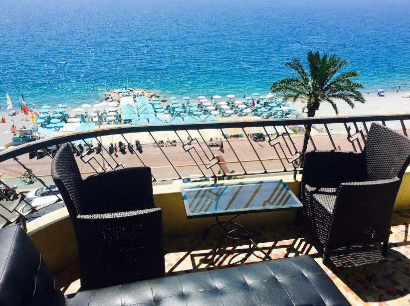 6.地中海一望!高級リゾートホテルのようなバルコニーが素敵