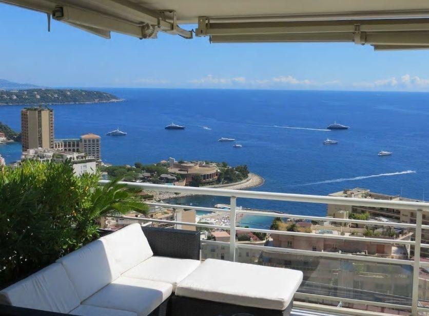 3.モナコの青い海が一望