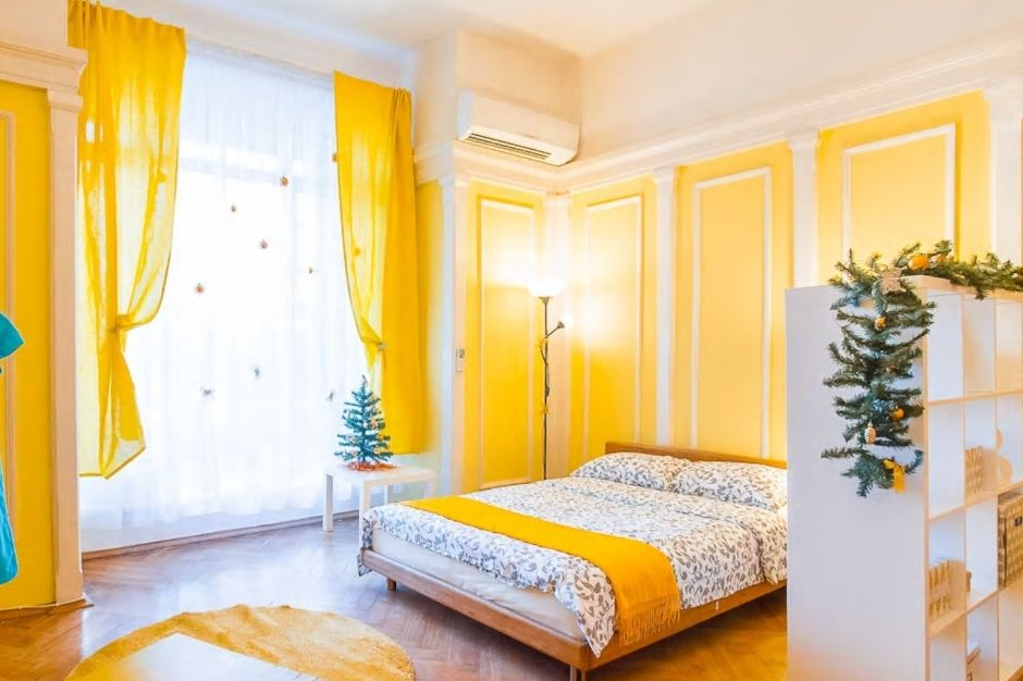 3.オレンジの可愛いお部屋、インスタ映え必至!