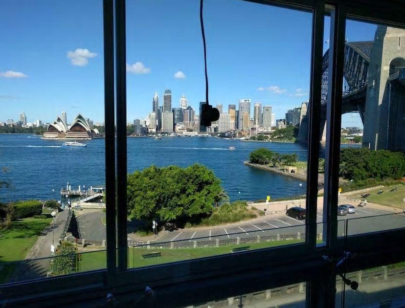 5.シドニーのシンボル オペラハウスをお部屋から