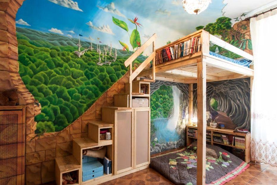 3.芸術の都らしいアーティスティックなお部屋