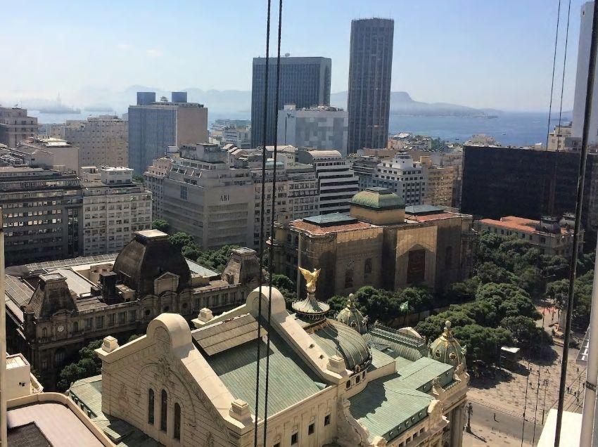 5.リオ市内の歴史的建築物やグローリア湾を臨む眺望が自慢
