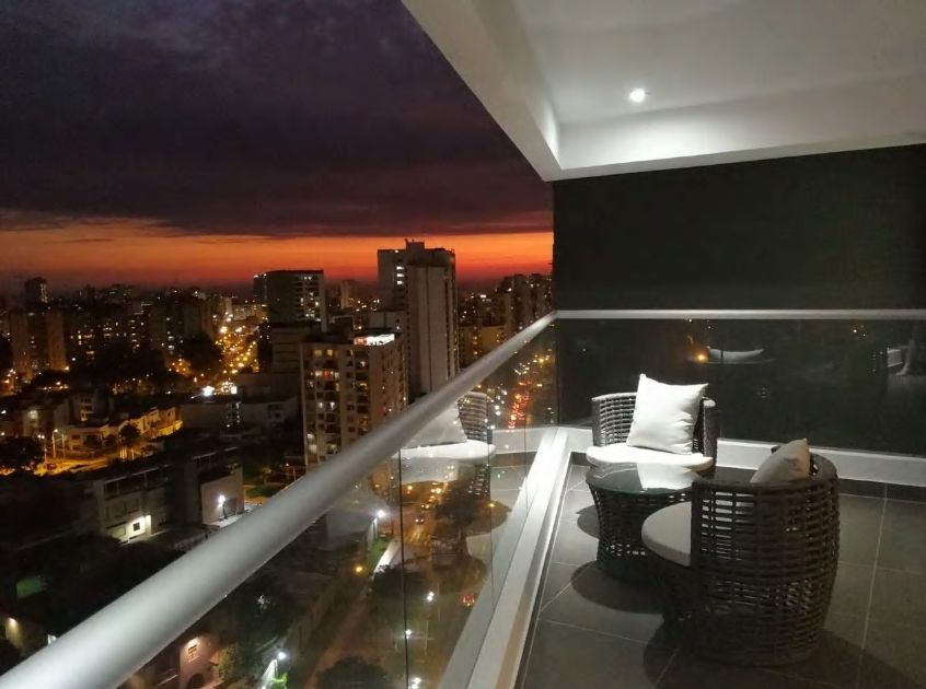 3.リマの市街地を一望できる眺望が自慢