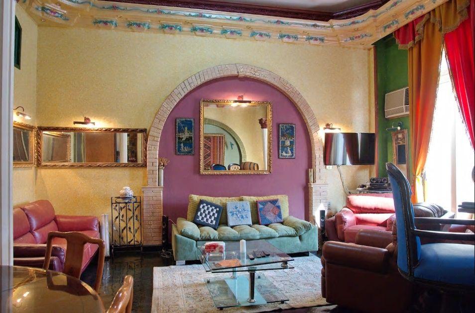 5.まさにエジプト! きらびやかなお部屋が魅力