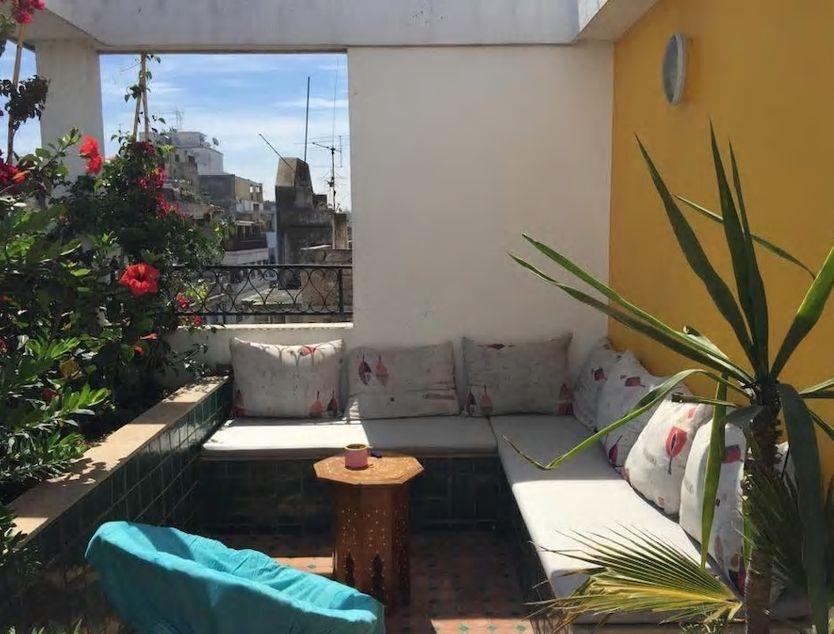 5.カサブランカの街並みを眺めながらテラスでのんびり