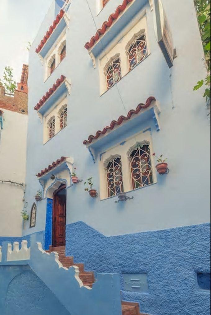 4.シャウエンの青いお家を貸し切りでプライベート利用