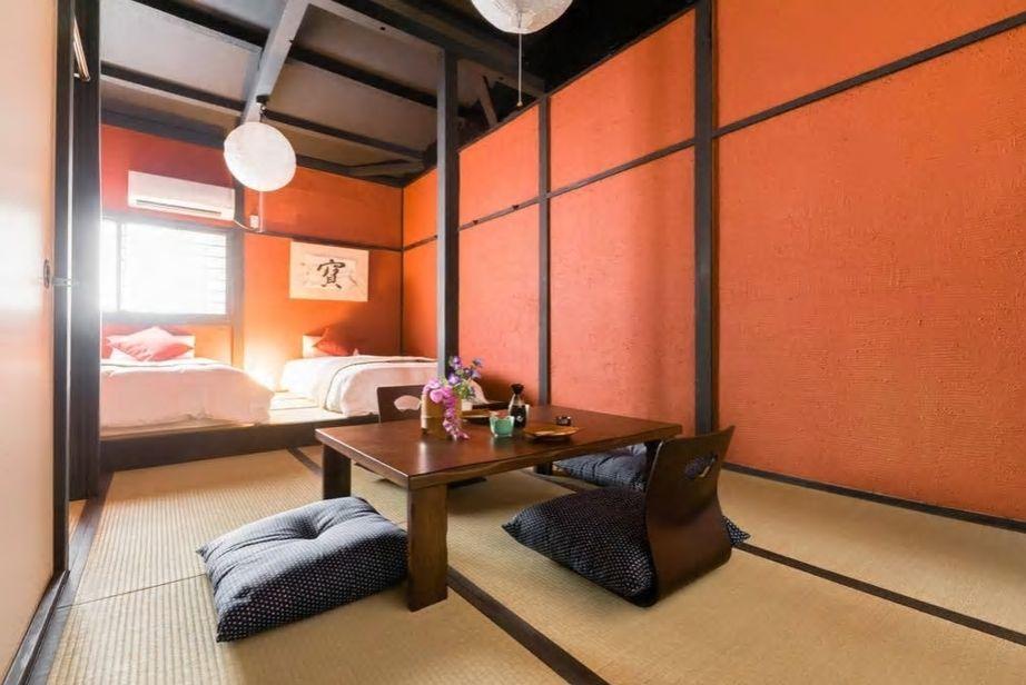 4.レトロな町並みが魅力の中崎町にある和室民泊/大阪市
