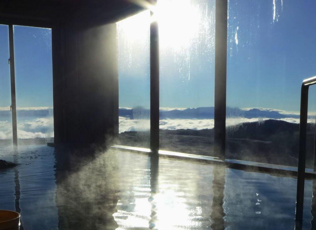雲海が見える温泉って?