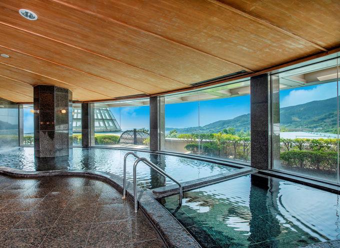 都心から約1時間!絶景天然温泉のあるホテル