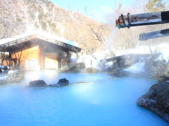 冬だけの絶景!雪見露天風呂