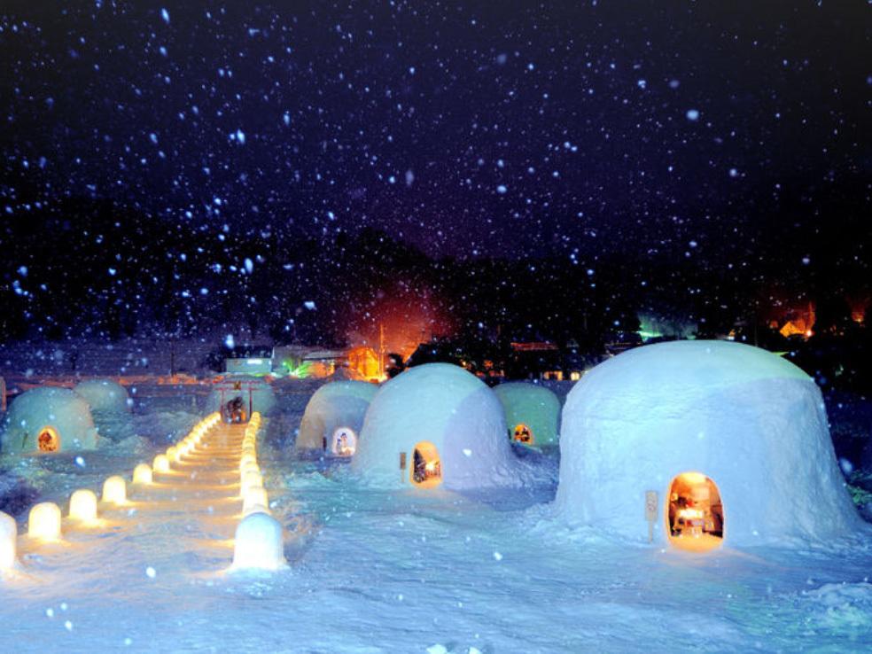 一度は体験したい!雪の絶景イベントが信州にあった